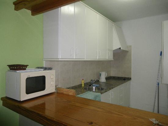 Flamingo Apartamentos : Kitchen