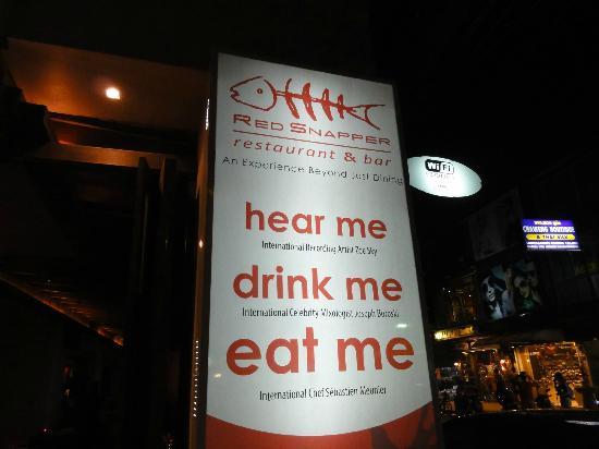Red Snapper Restaurant & Bar: resto