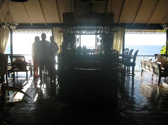 Firefly Mustique Hotel: Bar at Firefly