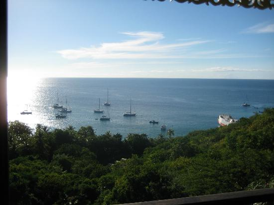 Firefly Mustique Hotel: View from Firefly