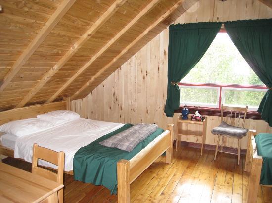 Chalets Restigouche: Bedroom cottage #1 (for groups)