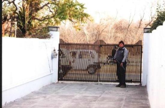 Peace Palace House: Main Gate