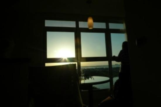 ME Cancun: another beautiful sunset from the room