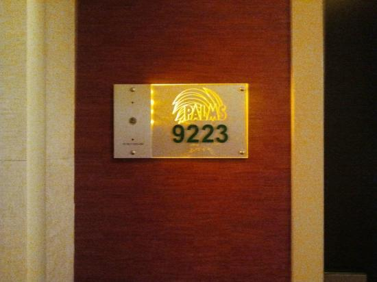 Palms Casino Resort: Room Suite Door