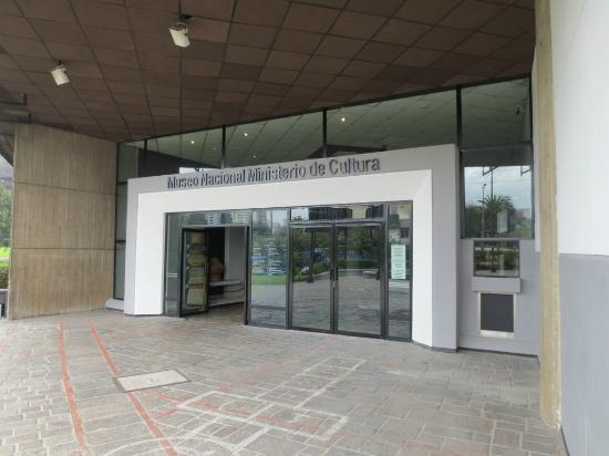 National Museum Quito : Entrance to the Museum