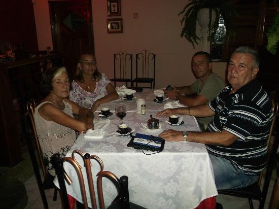 Blue Bahia Bar Restaurante: En familia