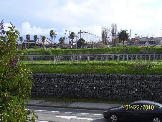 Ocean Gate Inn: Vista delle camere lato mare