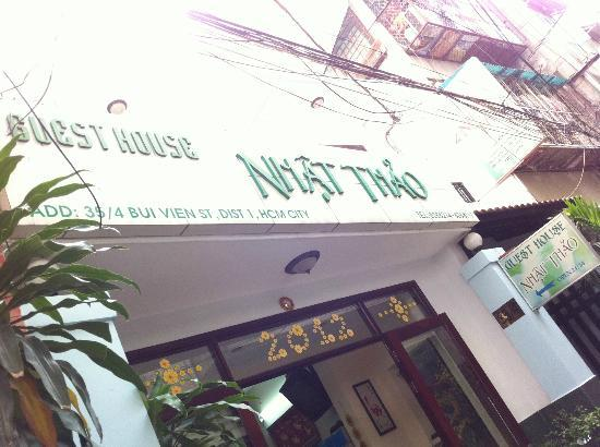 Luan Vu Hotel: Nhat Thao Guesthouse (right beside Luan Vu)