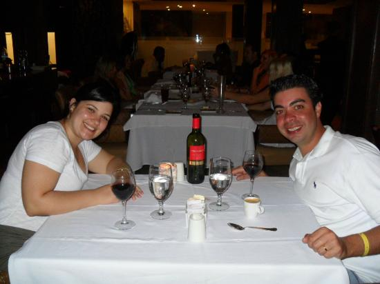Hard Rock Hotel Cancun: Restaurante Italiano.