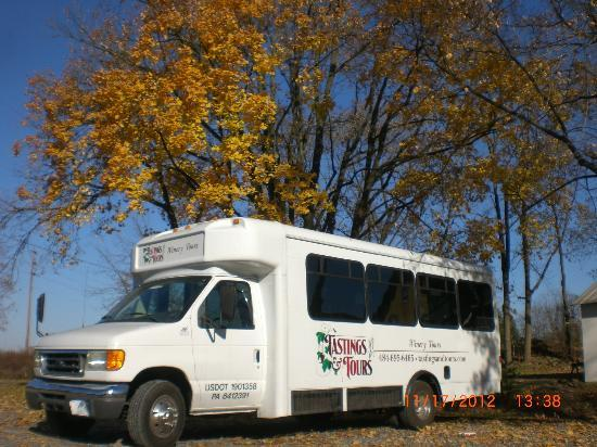 Tastings and Tours: Lehigh Valley - Berks County: Bus Background Default