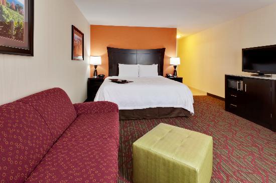 Hampton Inn Seneca Falls: Relax in our trendy guest rooms.