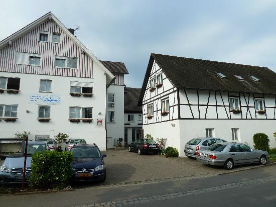 Hotel Lipprandt: l'hotel vu de la rue