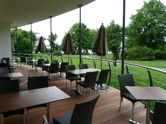 Hotel Lipprandt: terrasse