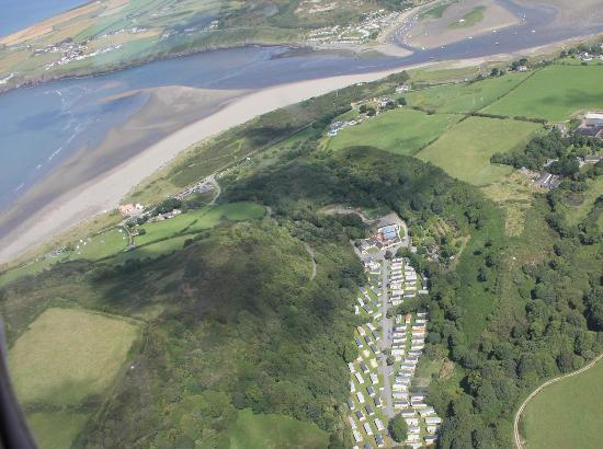 Cardigan Bay Holiday Park: Cardigan Bay Ariel View