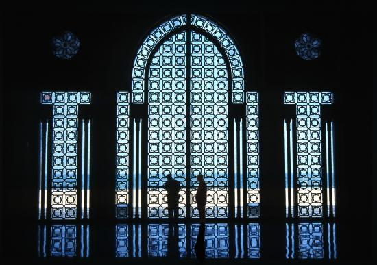 Hassan II-moskéen: Ocean Windows