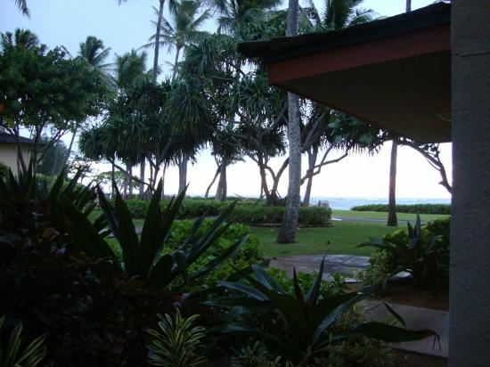 Kauai Coast Resort at the Beachboy: view from our patio doors