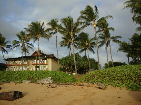 Kauai Coast Resort at the Beachboy: view of resort from beach