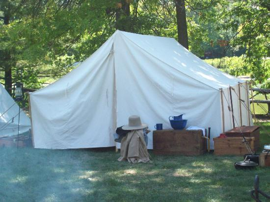Blackberry Farm: Cival war tent