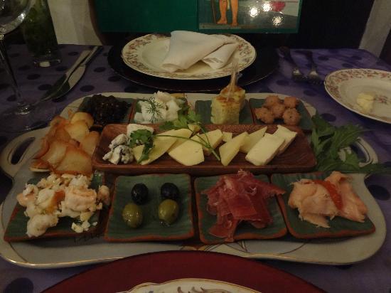 San Cristobal Paladar: the starters plate!