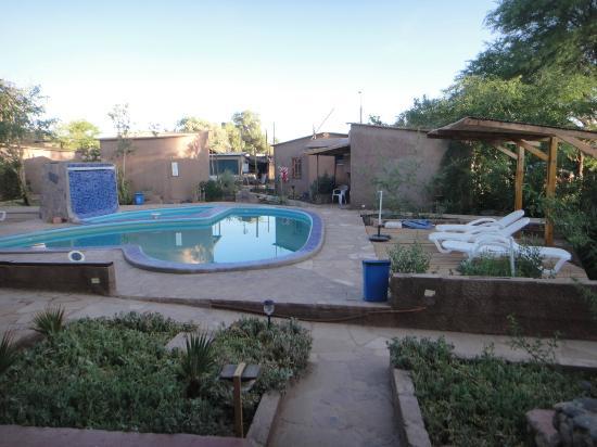 Takha Takha Hotel: Área da piscina