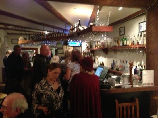 Adobe Bar: the bar area
