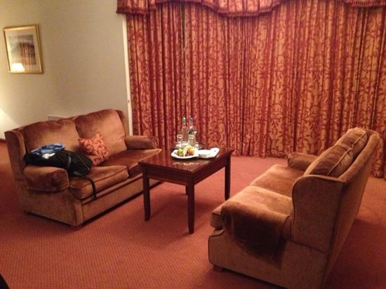 Norwood Hall Hotel: living room