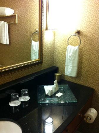 Hotel Le Soleil: Bathroom Vanity