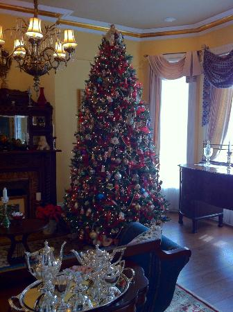 The Amazing Christmas Tree At The 1895 Inn