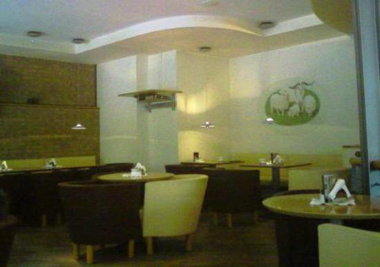 Hotel Lodenwirt: la sala del ristorante