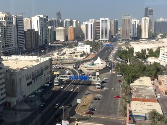 Beach Rotana: view from 20th floor suite