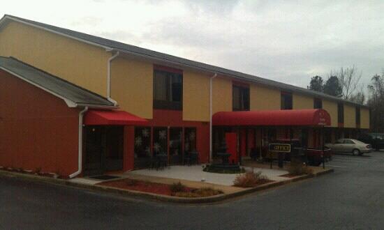 Red Roof Inn Spartanburg: econo inn