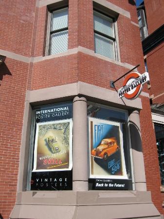 International Poster Gallery - 205 Newbury Street, Boston, MA