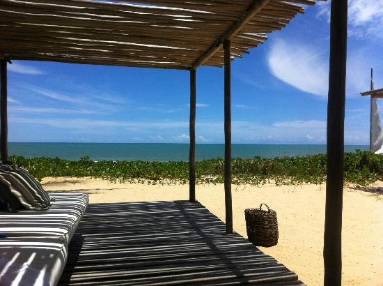 Villas de Trancoso Hotel: This was our favorite cabana