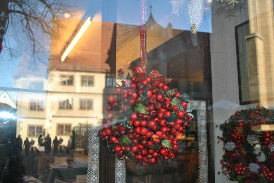 Hotel Goldenes Lamm: vetrina negozio