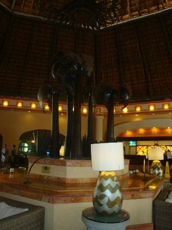 Sandos Playacar Beach Resort: Meeting Point