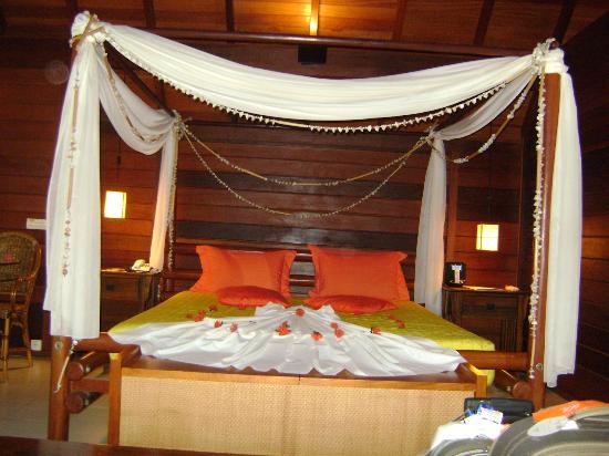 Nannai Resort & Spa : Quarto na chegada