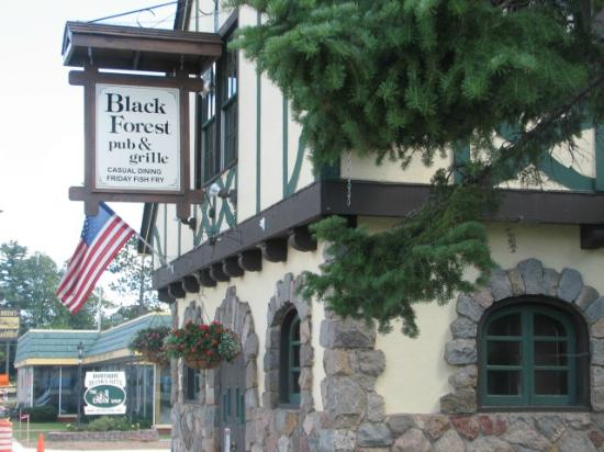 Black Forest Pub & Grille: Historic Northwods Landmark