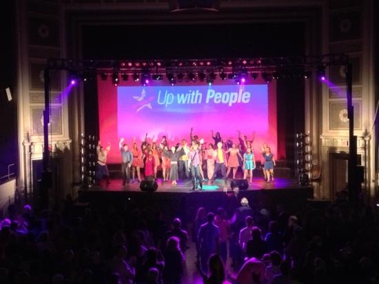 Plymouth Memorial Hall: Up with People