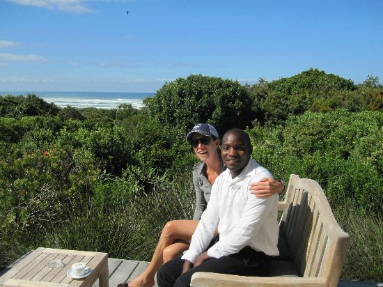 Mosselberg On Grotto Beach: Nancy and Wisdom