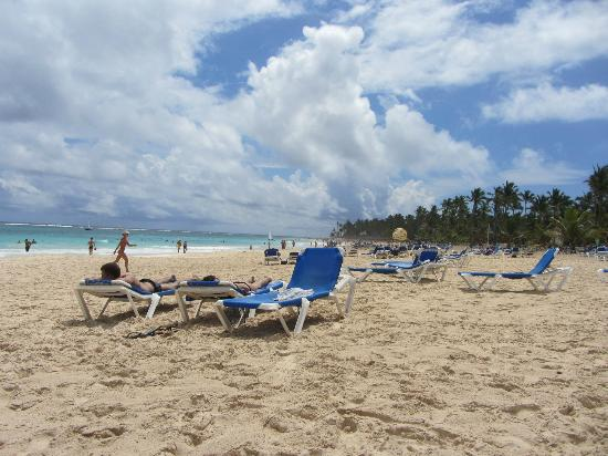 Occidental Caribe: hotel beach