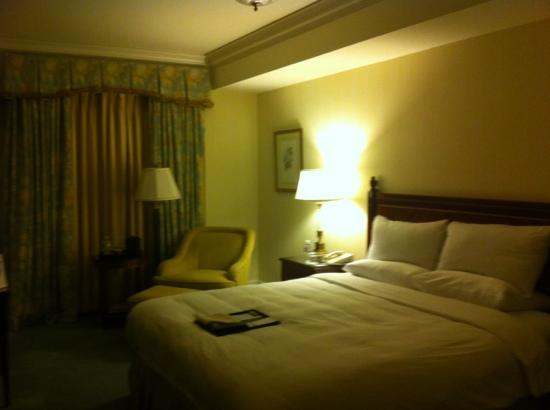 Taj Boston: very nice and the bed is wonderful!