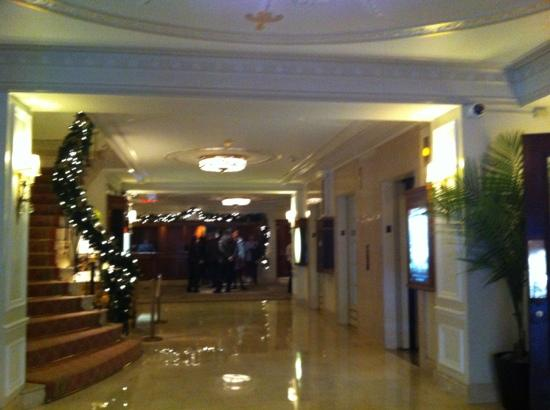 "Taj Boston: The lobby still says ""Boston luxury""."