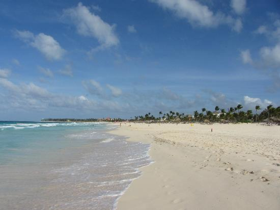 Occidental Caribe: from the hotel beach