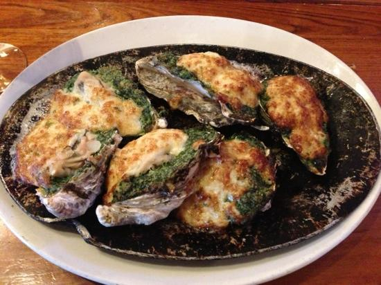 The Fish Market: oysters Rockefeller