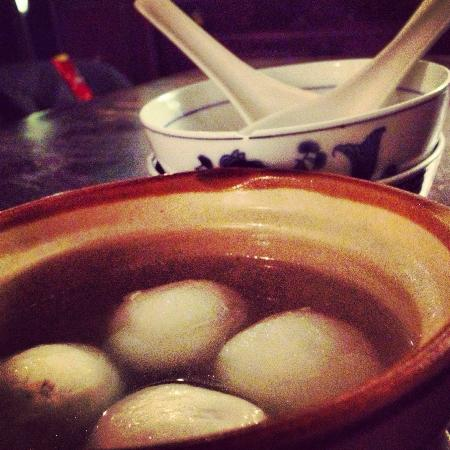 Cafe China: Rice Wine Soup - Chinese Desseert