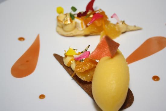 Le Restaurant : orange