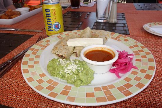 Villa del Palmar Beach Resort & Spa Los Cabos: flank steak tacos