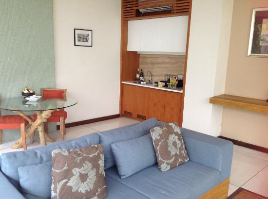 มาคา วิลล่าส์ & สปา: Living area