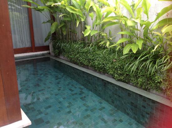 มาคา วิลล่าส์ & สปา: Our private pool