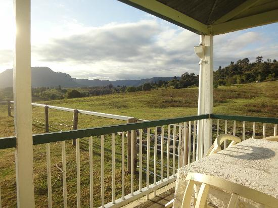 Cedar Glen Farmstay: From the verandah